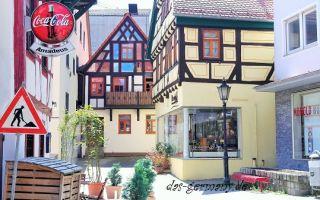 Тема 'город' на немецком языке. как рассказать про свой город?