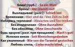 Бояться по-немецки: разные варианты перевода.