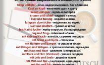 Хобби на немецком. полезные фразы и выражения.