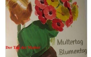 Праздник для всех мам: день матери в германии.
