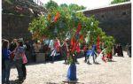 Майский праздник в германии. день труда. майское дерево.