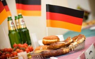 Что едят немцы? какие блюда предпочитают жители германии.