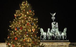 Рождественская ёлка в германии . история праздничной ёлки и последствия))