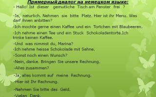 Диалоги на немецком языке. зачем нужны диалоги?
