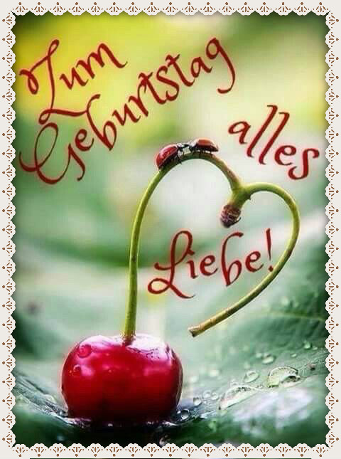 С днем рождения поздравления на немецком картинки