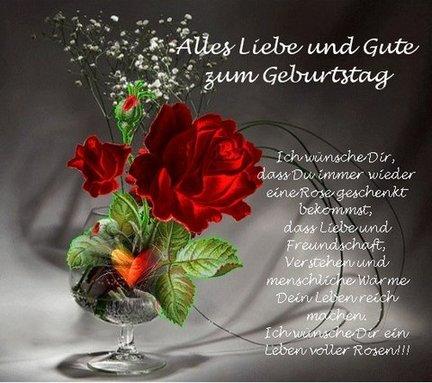 Ватсап, картинки с поздравлением на немецком языке